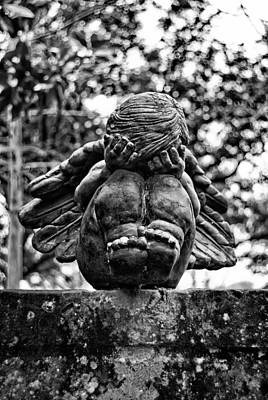 Photograph - Weeping Child by Nathan Little