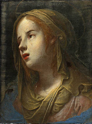 Painting - Weeping Virgin by Mario Balassi