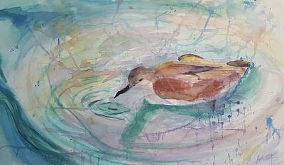 Painting - Weeping Willets  by Josh Tolman