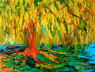 Painting - Weeping Willow by Vicki  Housel