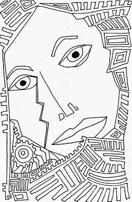 Feelings Drawing - Weeping Woman by Sarah Loft