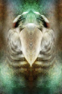 Digital Art - Weightless Heart by WB Johnston