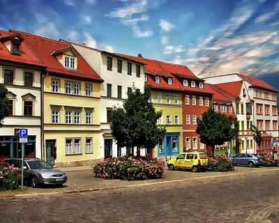 Photograph - Weimar Street Scene by Anthony Dezenzio