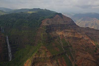 Weimea Canyons Art Print