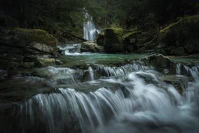 Photograph - Weiner Falls by Adam Gibbs