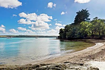 Photograph - Weir Beach Cornwall by Terri Waters