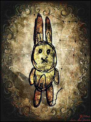 Digital Art - Weird Bun by Iowan SF and Ntr HMM