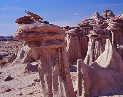 Photograph - Weird Hoodoos by Tom Daniel