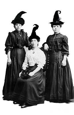 Jacko Photograph - Weird Sisters by Gillian Singleton