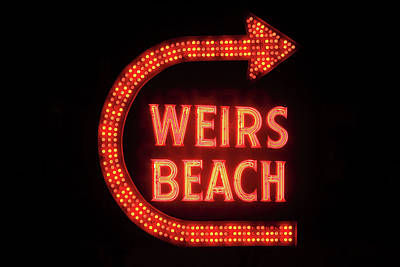 Photograph - Weirs Beach Icon by Brian Pflanz