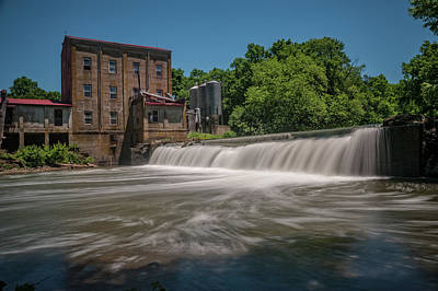 Photograph - Weisenberger Mill by Barry Fowler