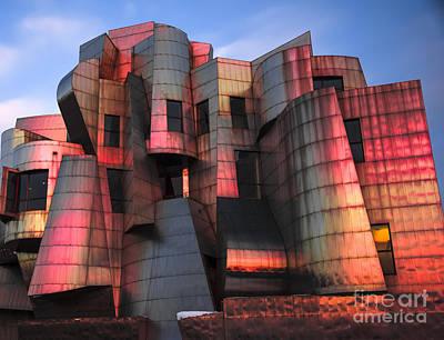 University Of Minnesota Wall Art - Photograph - Weisman Art Museum At Sunset by Craig Hinton