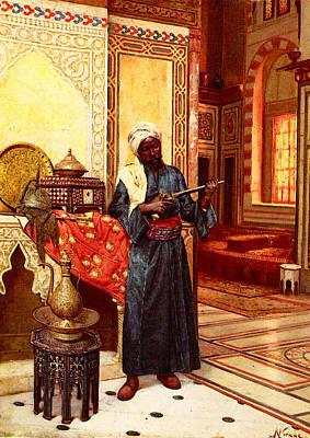 Weisse Rudolph Le Garde Du Harem Art Print by Weisse