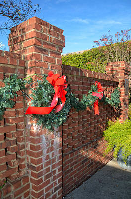 Photograph - Welch Park Christmas by Linda Brown