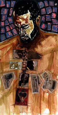 Ben Harper Painting - Welcome 2 The Cruel World by Vernell Garrett
