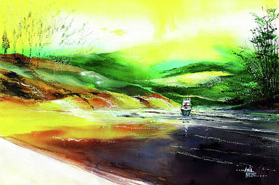 Painting - Welcome Back by Anil Nene