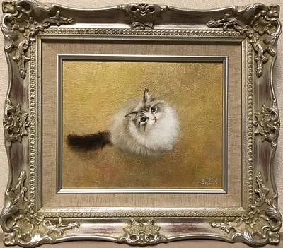 Cats Painting - Welcome Back by Hiroyuki Suzuki