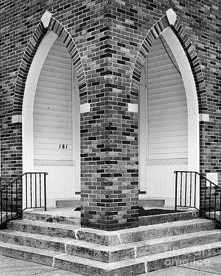 Photograph - Welcome Baptist by Patrick M Lynch