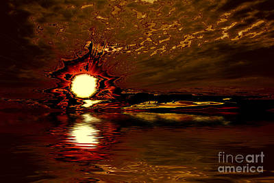 Welcome Beach Sunset 2 Series 1 Art Print