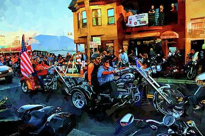 Photograph - Welcome Bikers by Alice Gipson