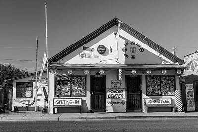Photograph - Welcome Center Route 66 by John McGraw