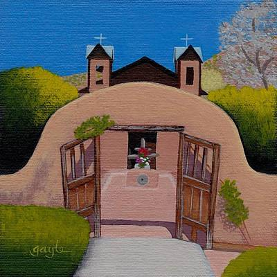 Painting - Welcome by Gayle Faucette Wisbon