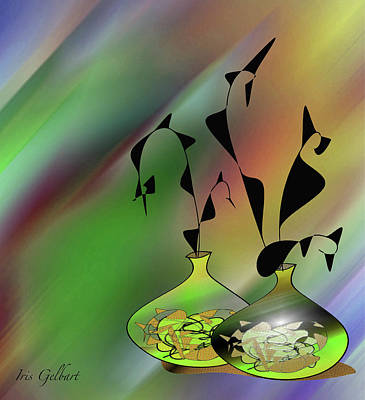 Digital Art - Welcome Home #12 by Iris Gelbart