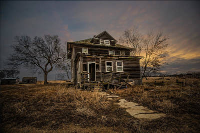 Rural Decay Photograph - Welcome Home by Aaron J Groen