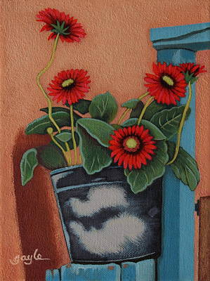 Painting - Warm Welcome by Gayle Faucette Wisbon
