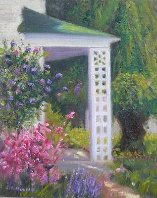 Welcome Home Art Print by Sharon Morley