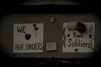 Welcome Home Soldiers Art Print by Aimee Galicia Torres