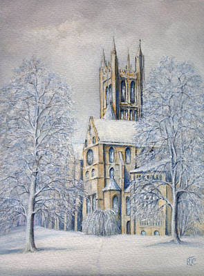 Painting - Come In From The Cold by Rosemary Colyer