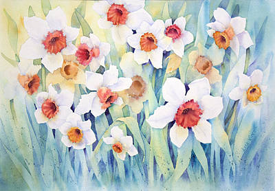 Painting - Welcome Spring by Lisa Vincent
