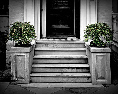 Front Steps Photograph - Welcome Steps by Perry Webster