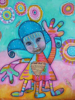 Mixed Media - Welcome Sunshine by Barbara Orenya