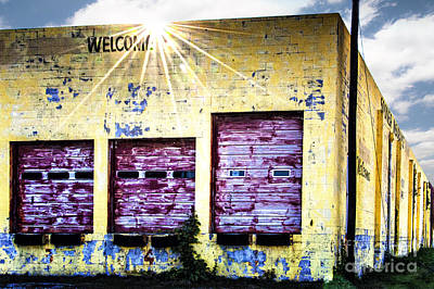 Welcome Print by Tamyra Ayles