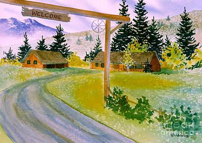 Matanuska Painting - Welcome by Teresa Ascone
