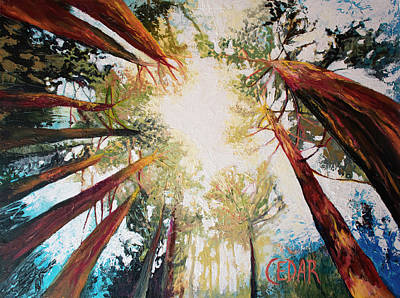 Painting - Welcome The Sun by Cedar Lee