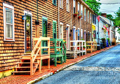 Welcome To Annapolis Print by Debbi Granruth