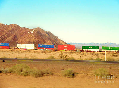 Photograph - Welcome To Arizona by Claudia Ellis