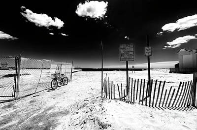 Photograph - Welcome To Asbury Park Beach 2007 by John Rizzuto