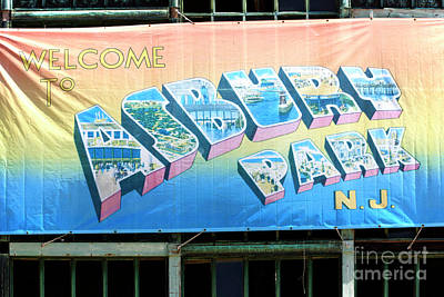 Photograph - Welcome To Asbury Park by John Rizzuto