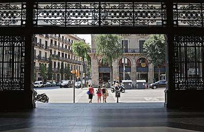 Photograph - Welcome To Barcelona by Tatiana Travelways