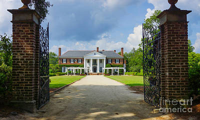 Photograph - Welcome To Boone Hall by Jennifer White