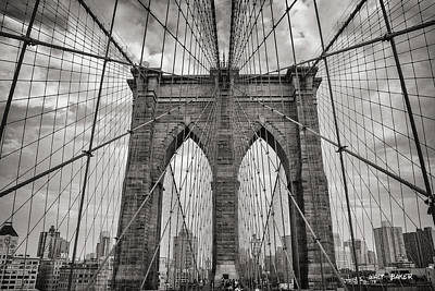 Photograph - Welcome To Brooklyn by Walt Baker