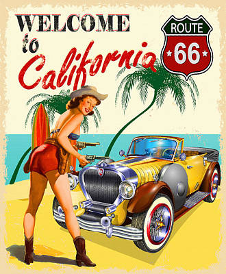 Welcome To California Original