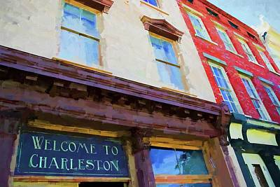 Photograph - Welcome To Charleston by Alice Gipson