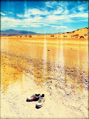 Death Valley Mixed Media - Welcome To Death Valley by MB Dallocchio