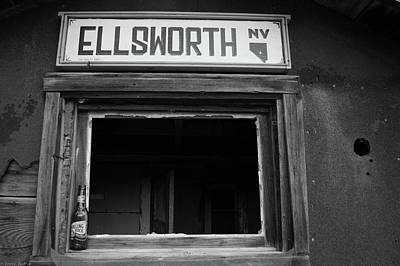 Photograph - Welcome To Ellsworth by James Dudrow
