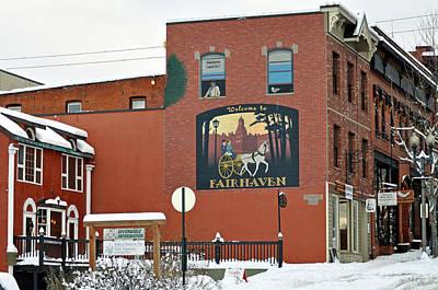 Welcome To Fairhaven Art Print by Matthew Adair